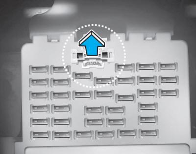 hyundai tucson memory fuse shunt connector fuses. Black Bedroom Furniture Sets. Home Design Ideas